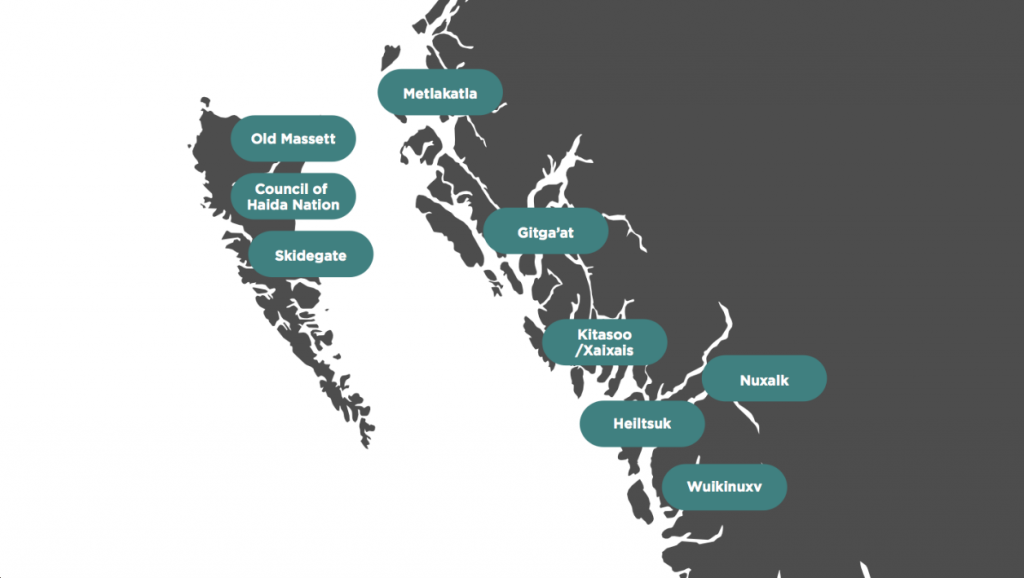 Coastal First Nations Map